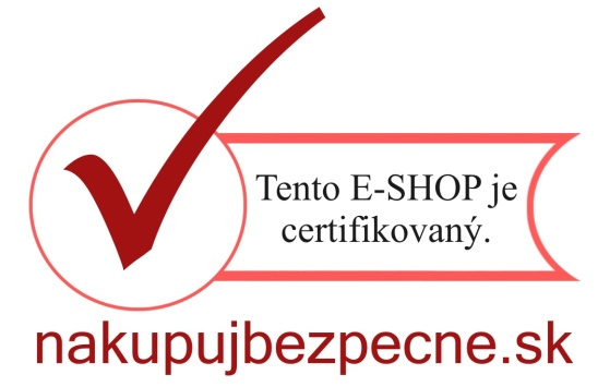 Tento e-shop je certifikovaný.